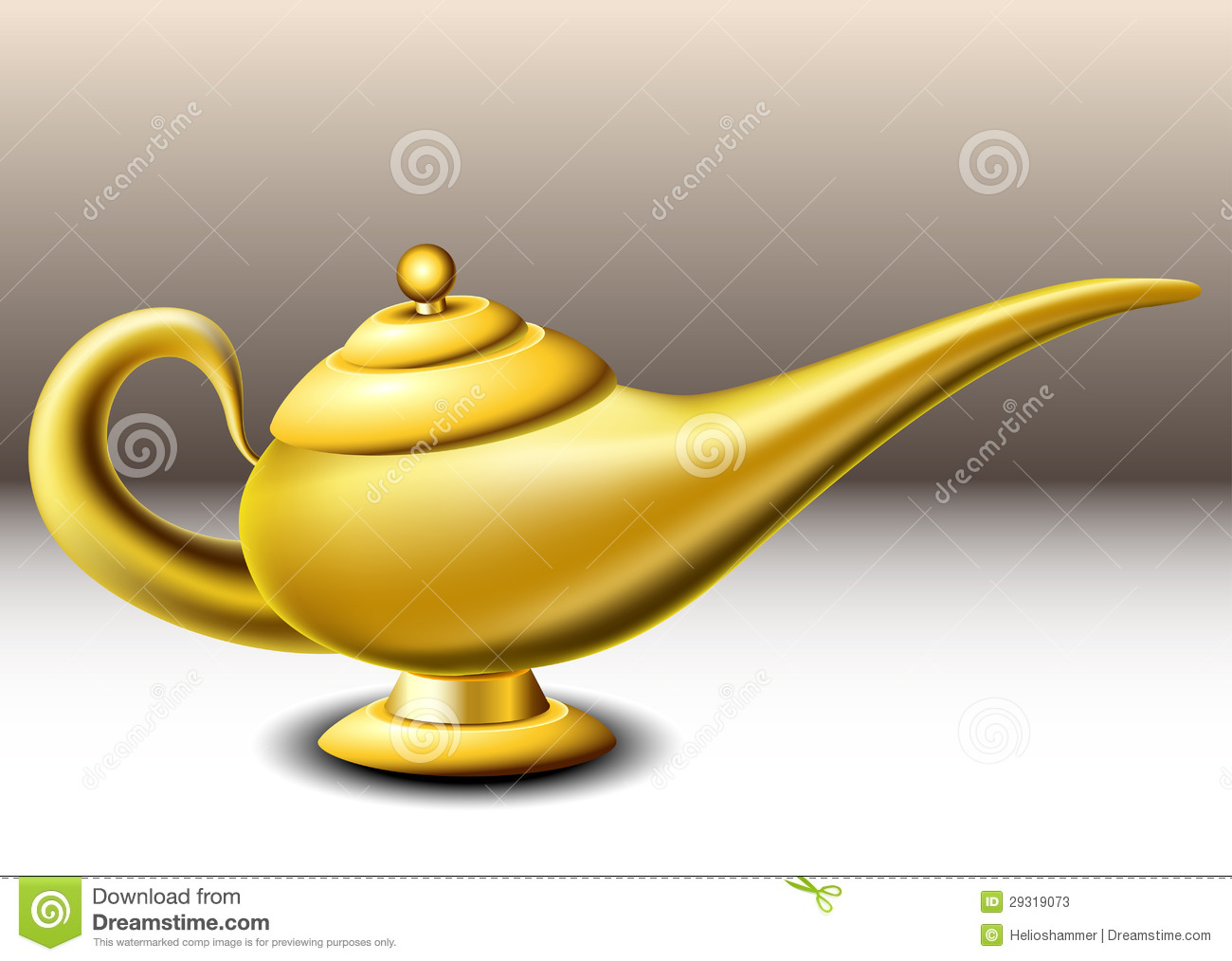 how to make a genie lamp