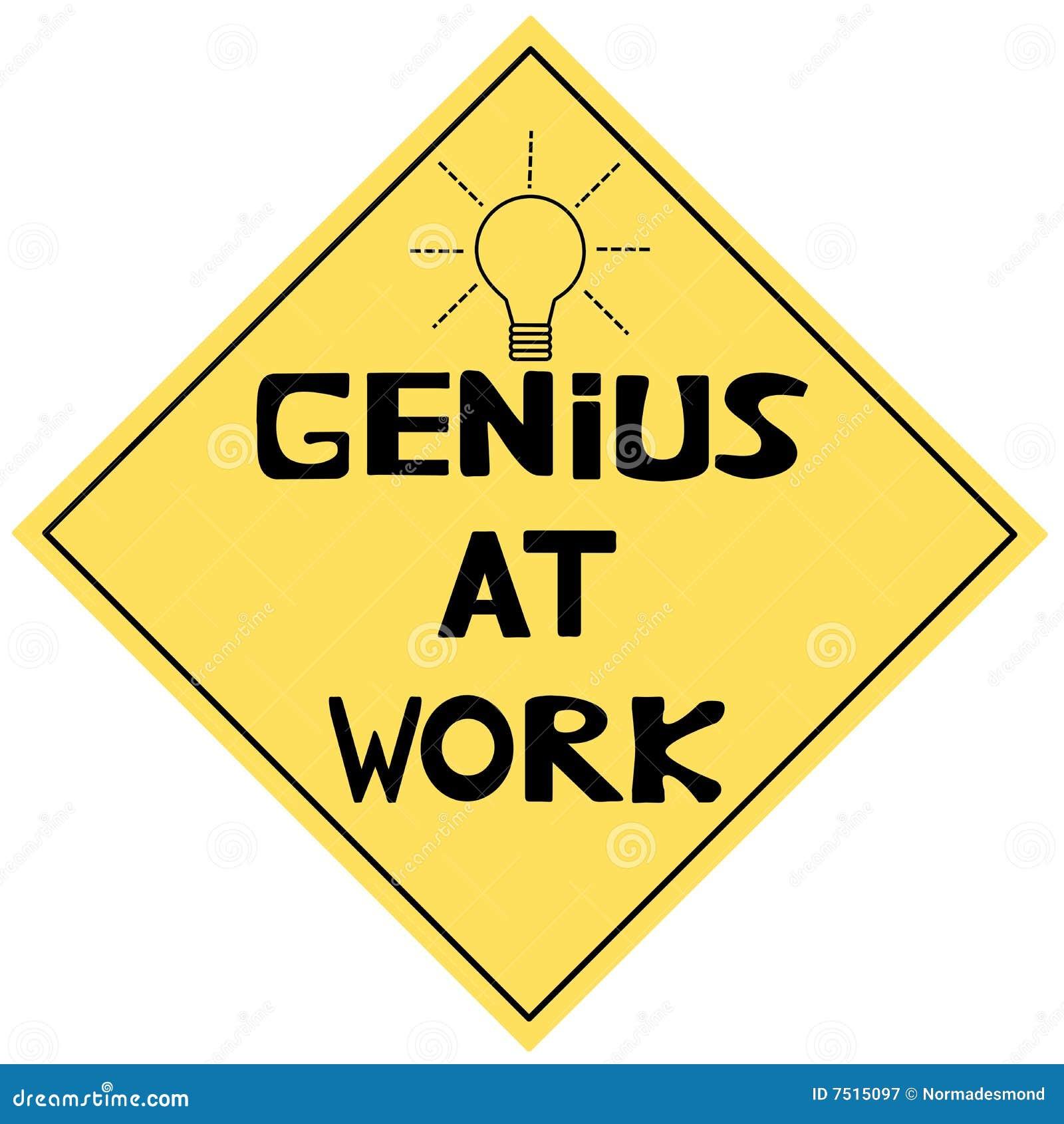 Genie op het Werk