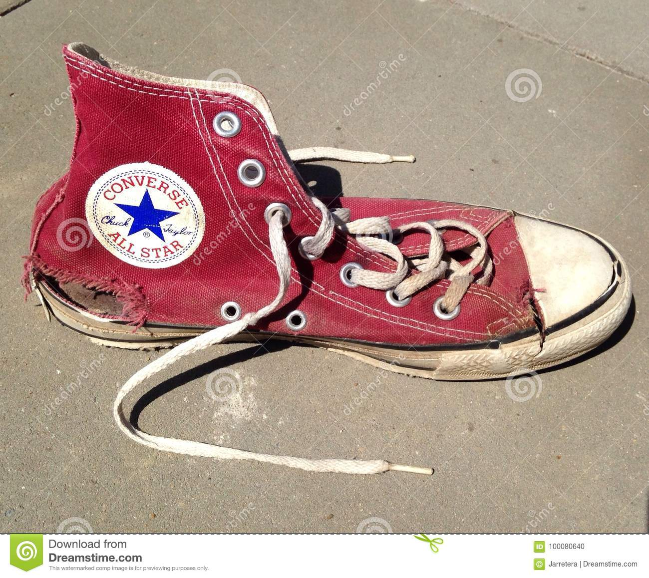 converse used