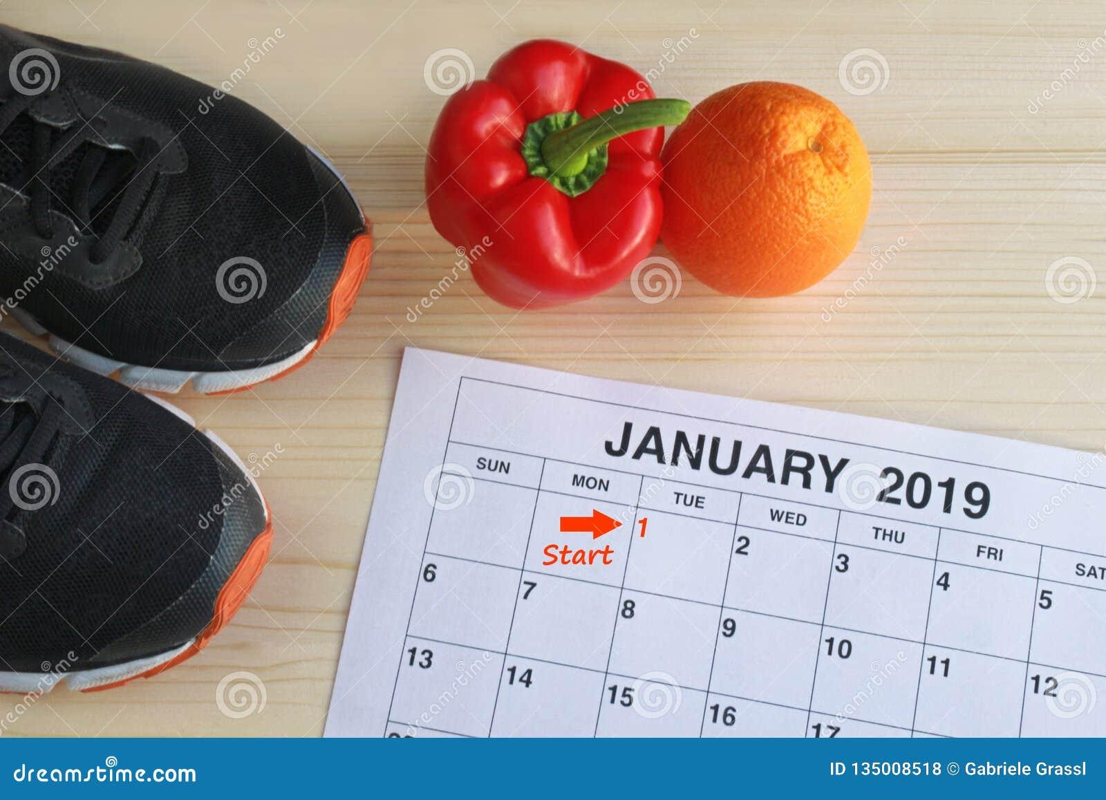 Gennaio 2019 inizio in una nuova vita sana