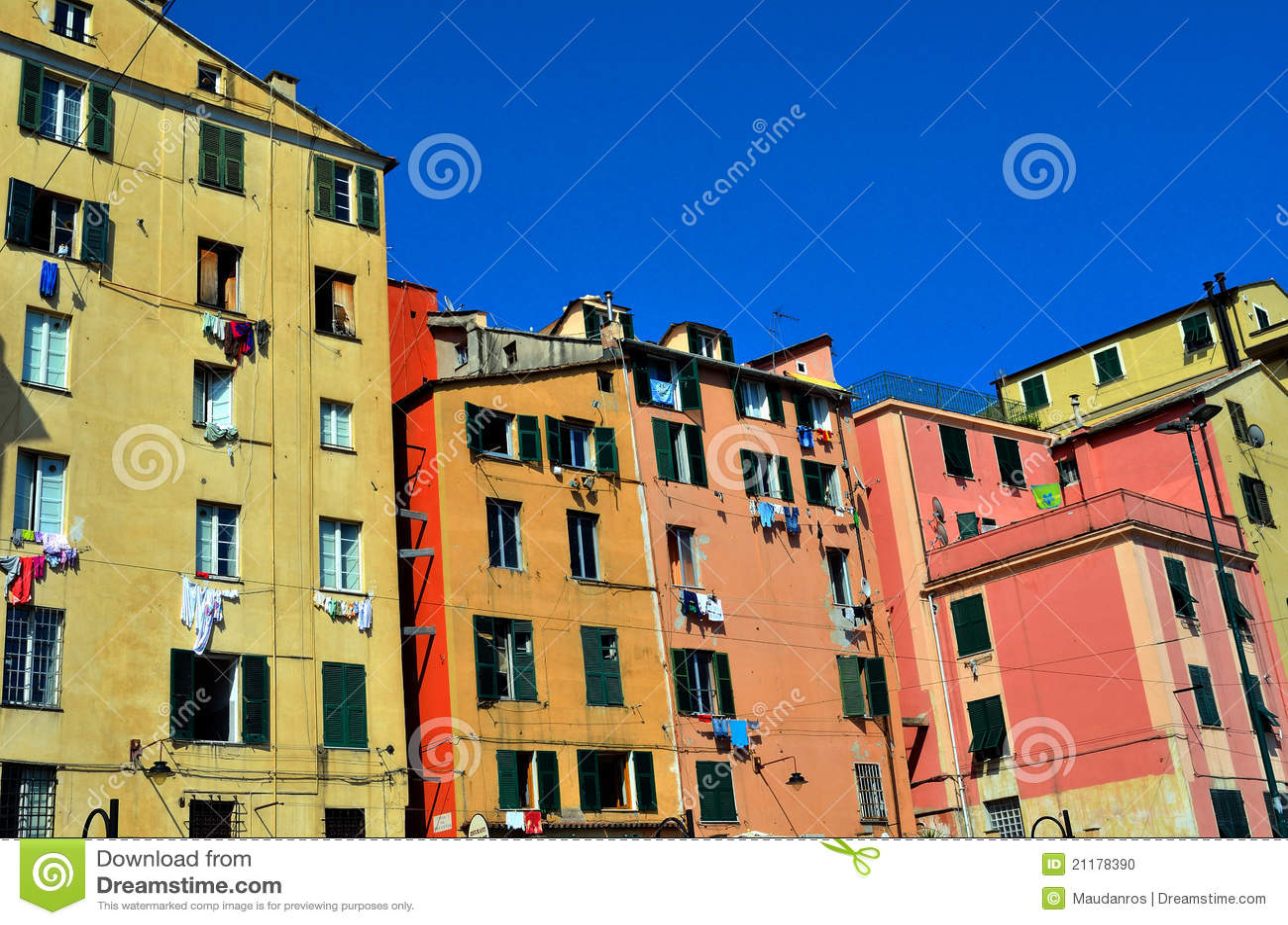 Genoa houses