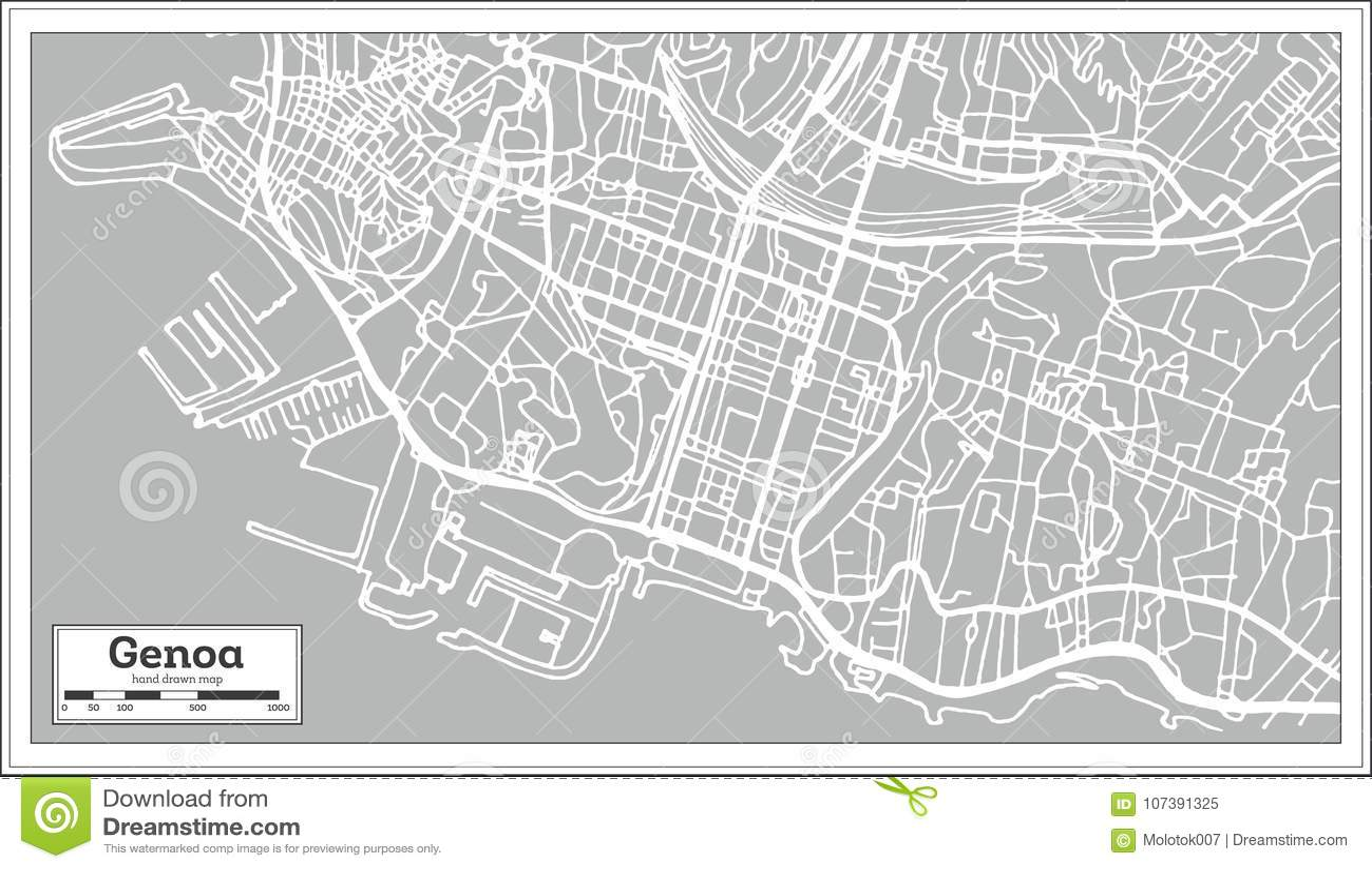 Genoa italy city map in retro style stock vector illustration of genoa italy city map in retro style altavistaventures Choice Image