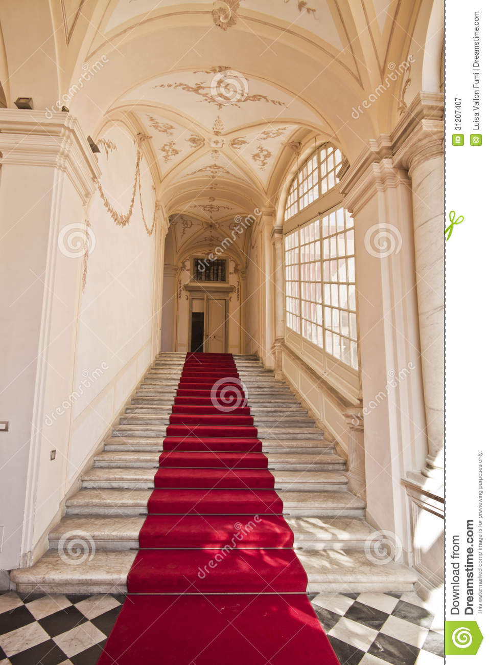 Royalty Free Stock Photography Genoa Italy Royal Palace Entrance Hall Staircase Palazzo Reale Palazzo Stefano Balbi Interior Flight Stairs Image31207407 on palazzo interior design