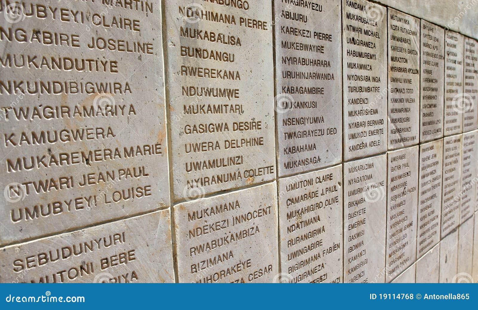 Genocidio ruandese