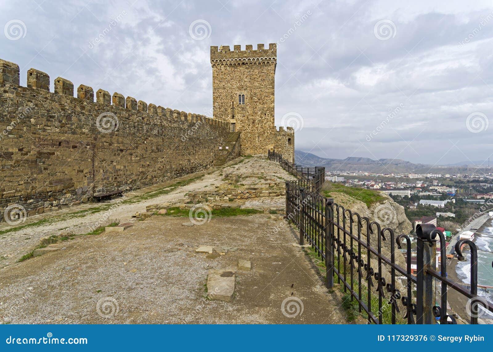 Genoese sudak för crimea fästning