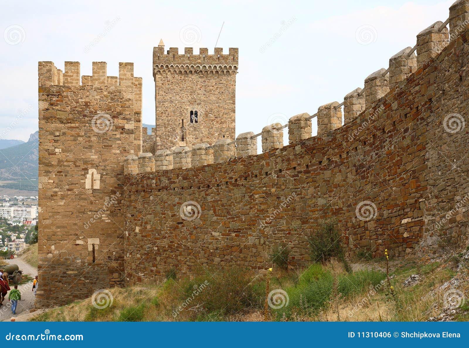 Genoese Sudak Schloss