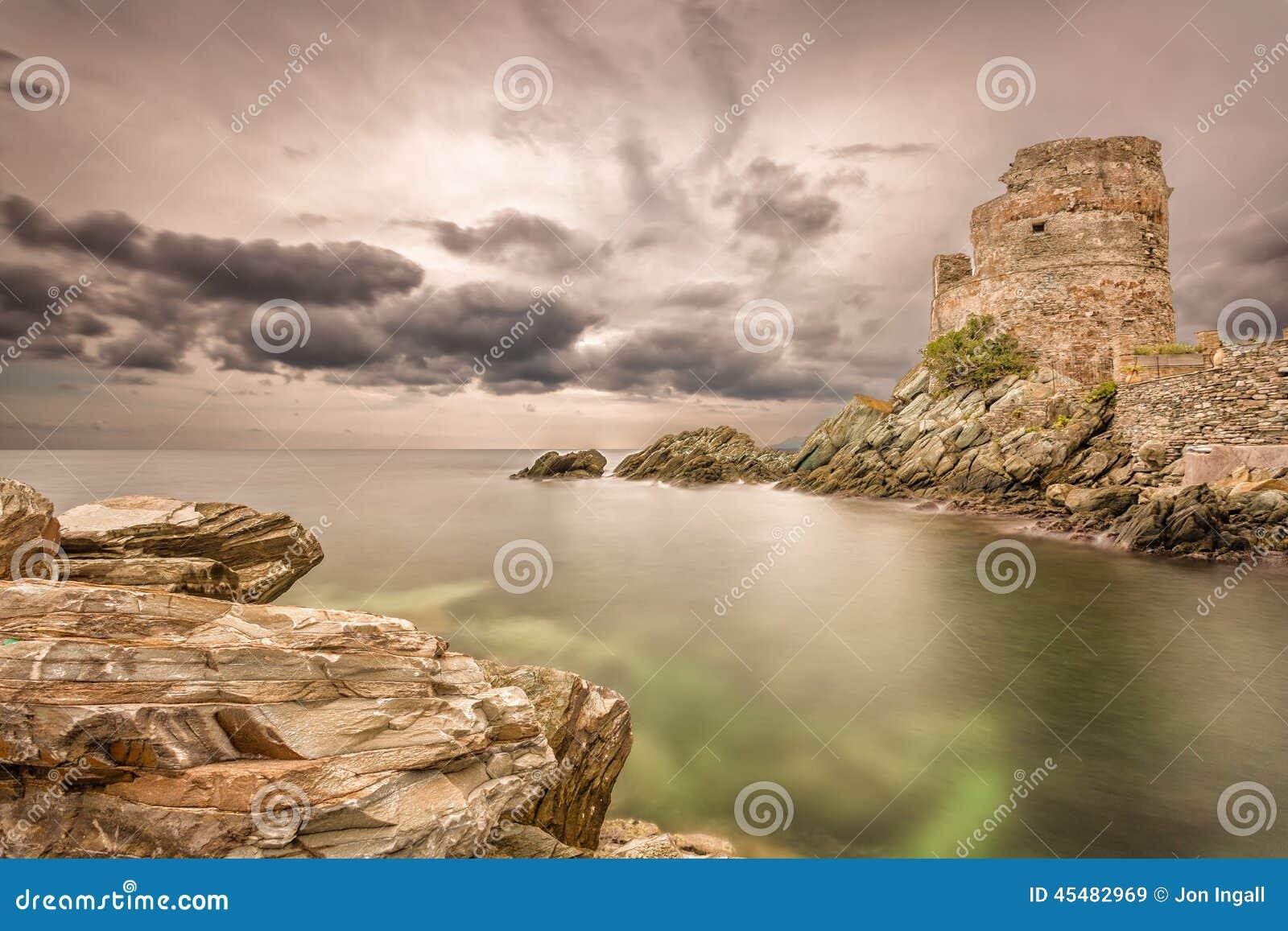 Erbalunga, Corsica, France Stock Photo
