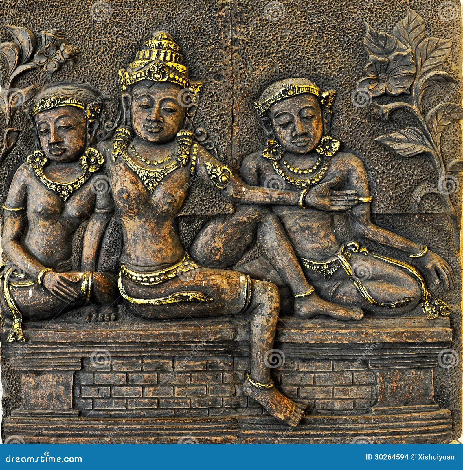 Drie Bali vrouwen