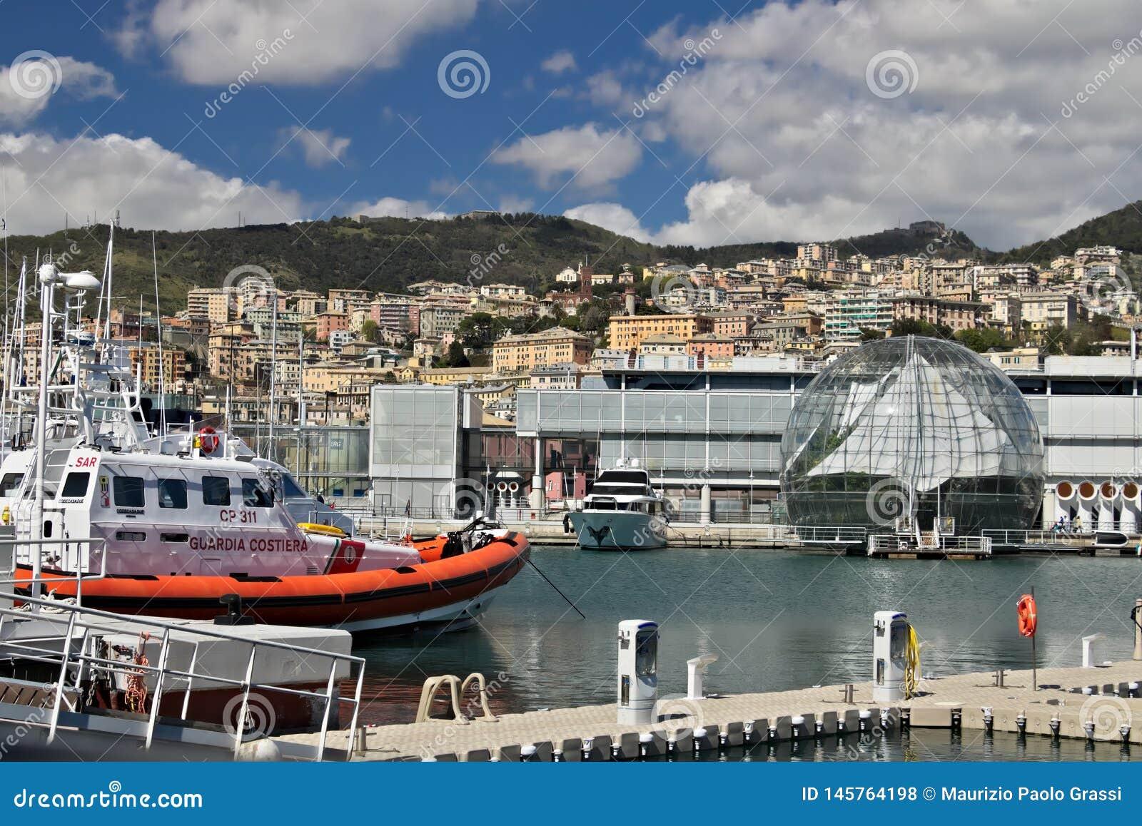 Genova Porto ed acquario antichi