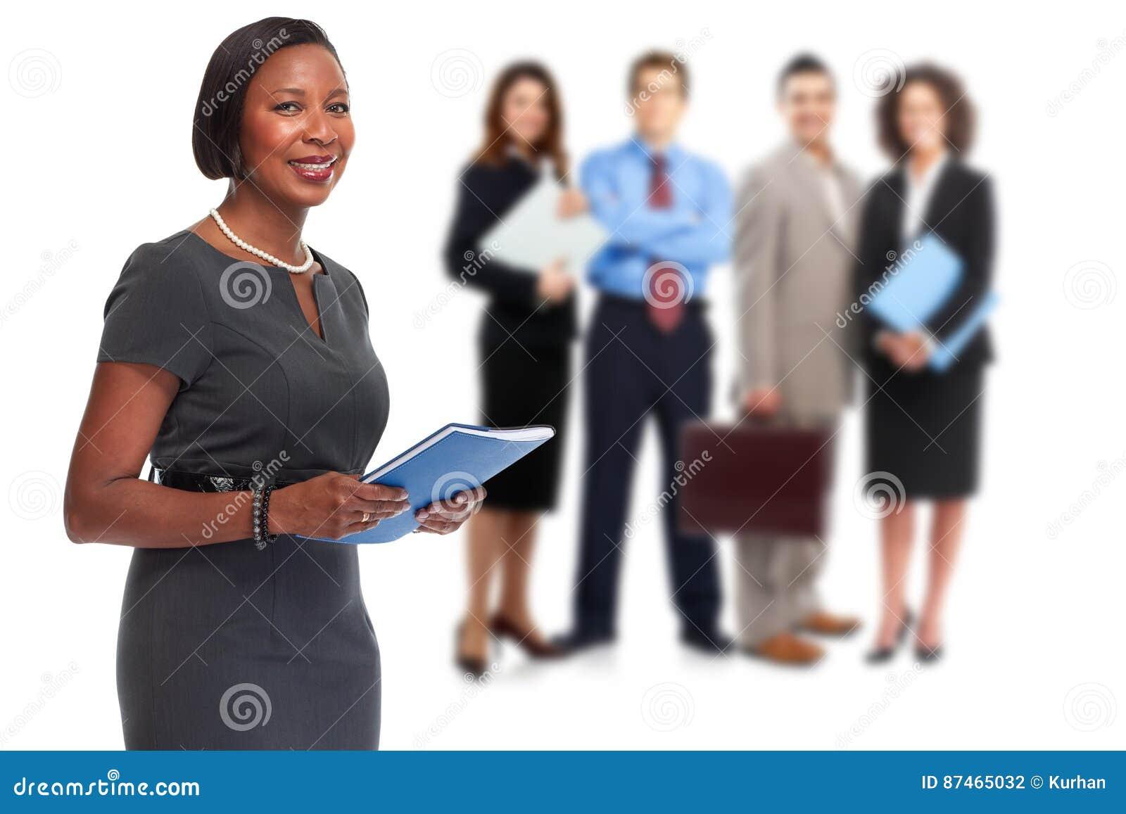 Gens d affaires de groupe