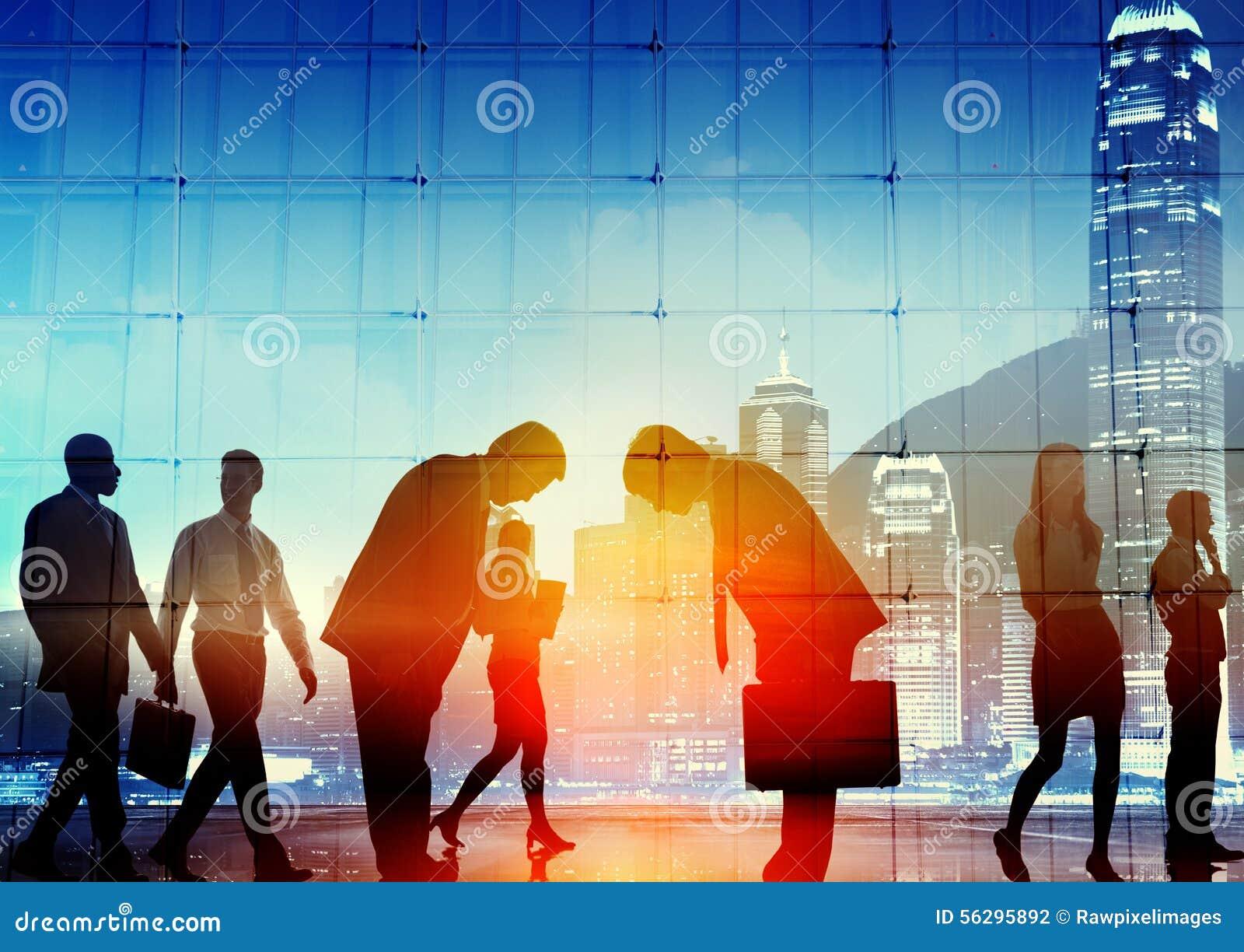 Gens d affaires japonais de concept d entreprise de respect de culture