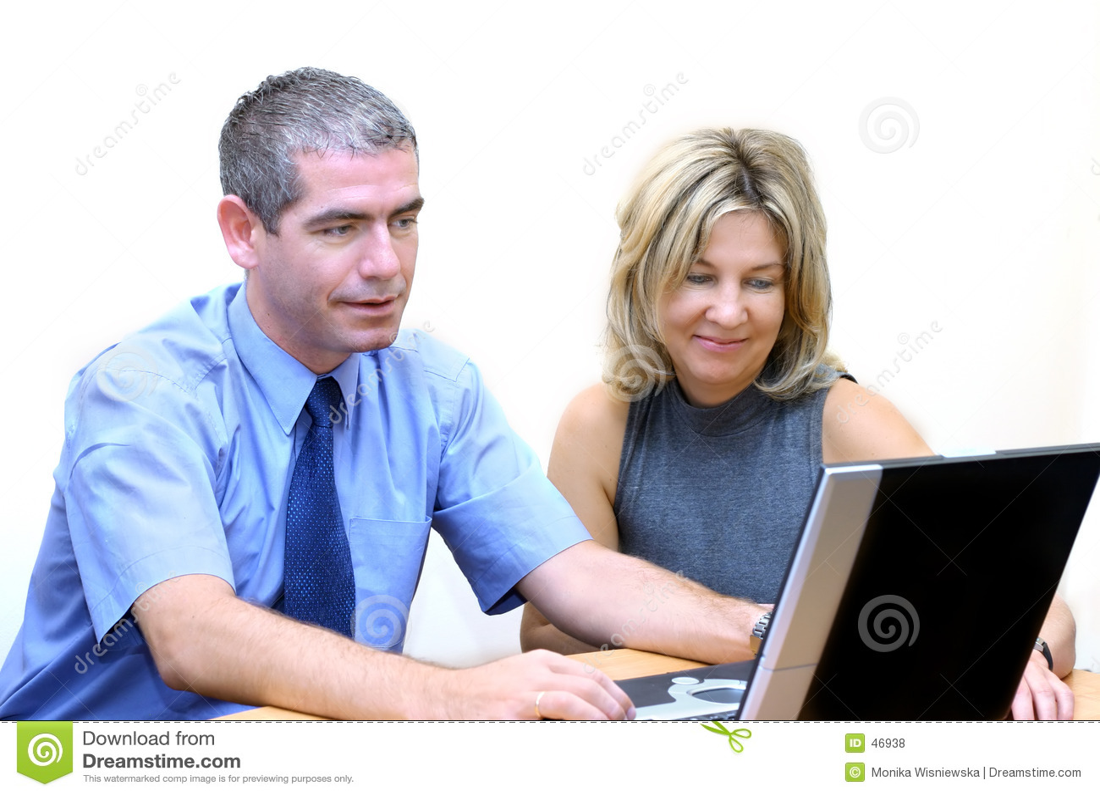 Gens d affaires - recherche d Internet