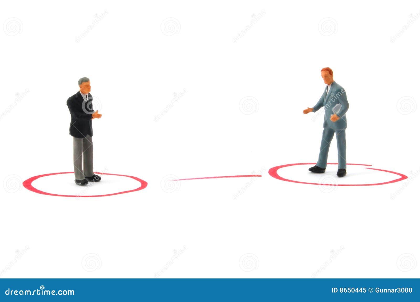 Gens de gestion de réseau d affaires