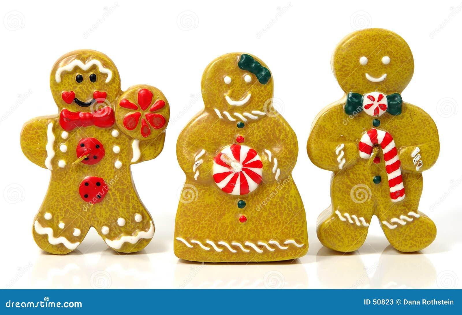 Download Gens de pain de gingembre image stock. Image du gingerbread - 50823