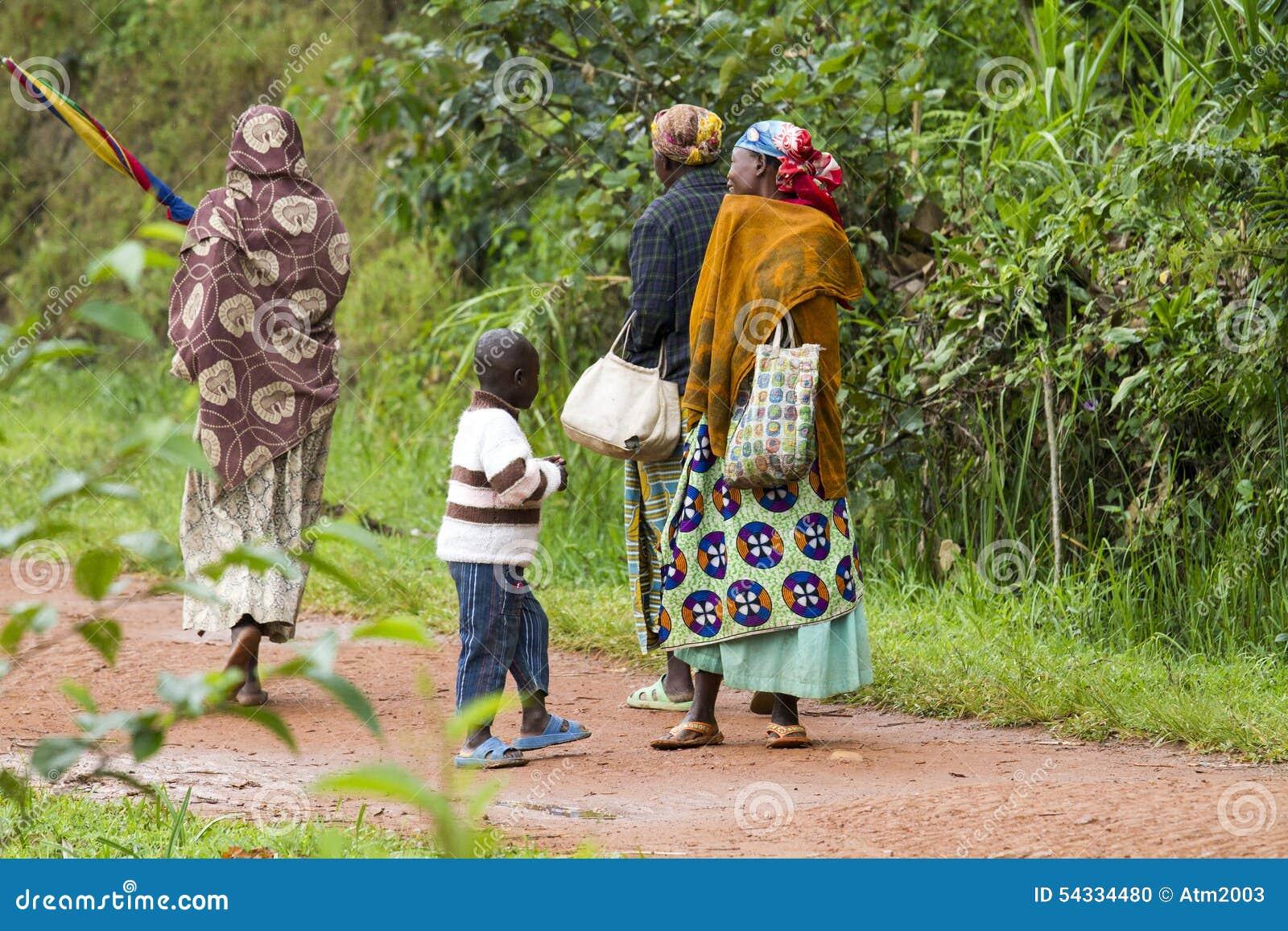 Gente africana