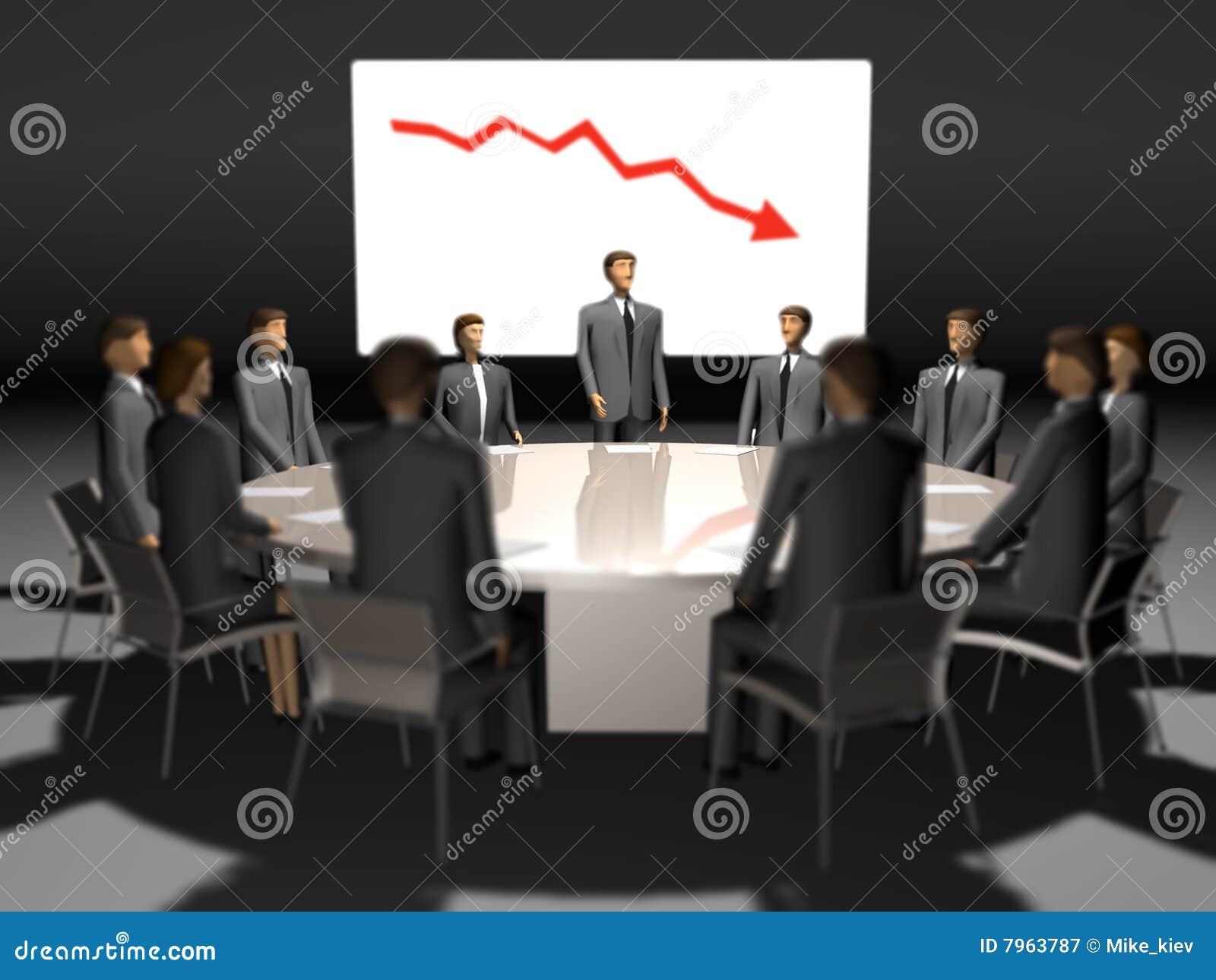 Gente de la reuni n en la mesa redonda imagen de archivo for Mesa redonda cristal 8 personas