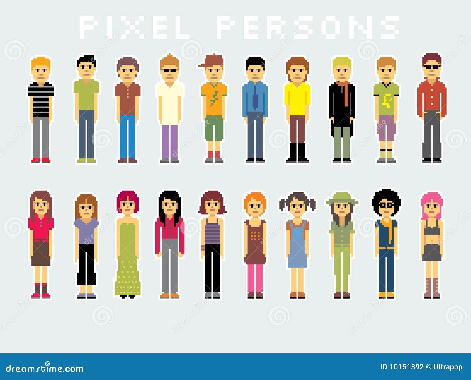 Gente del pixel