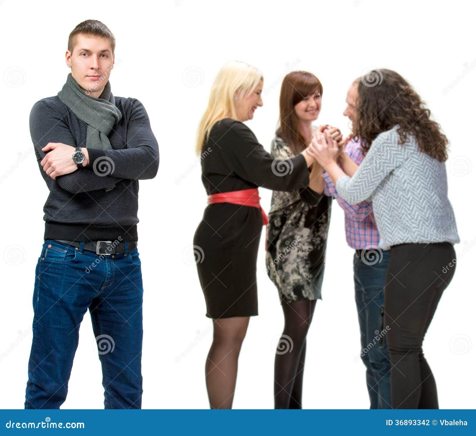 Download Gente di affari fotografia stock. Immagine di businesspeople - 36893342