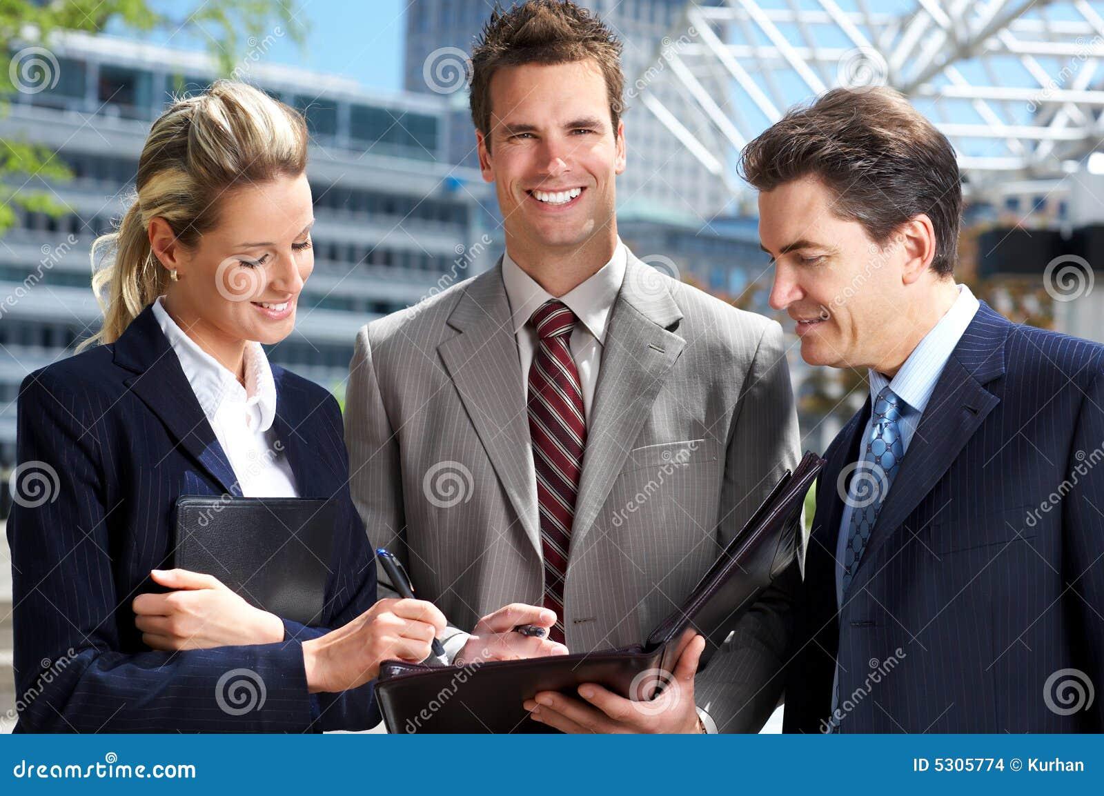 Download Gente di affari fotografia stock. Immagine di azienda - 5305774