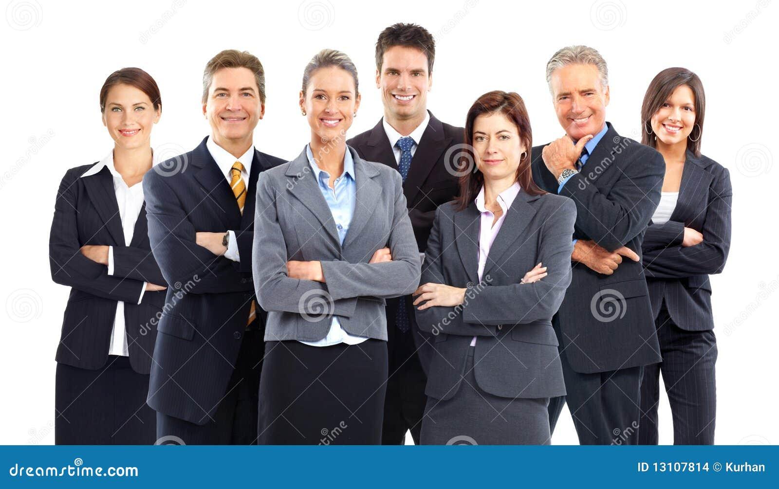 Gente di affari della squadra