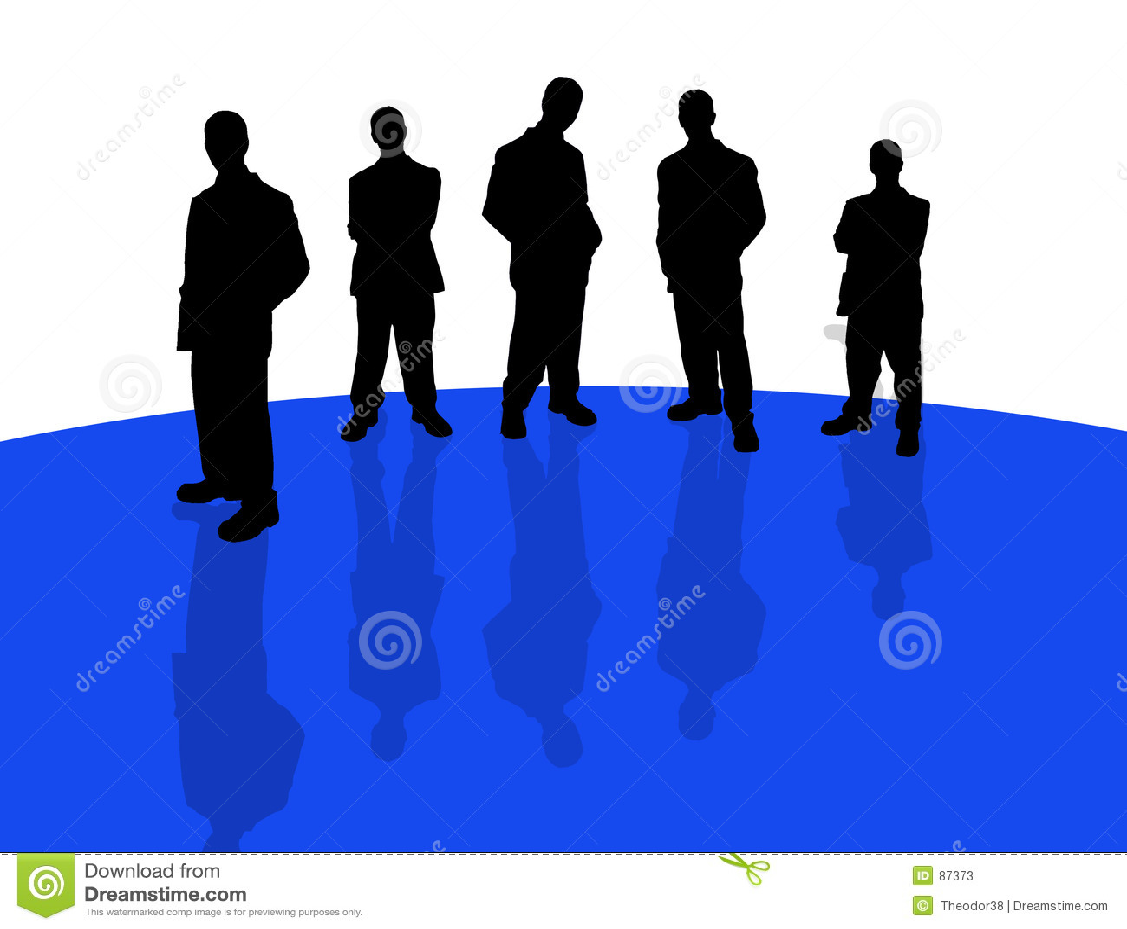 Gente di affari di shadows-3