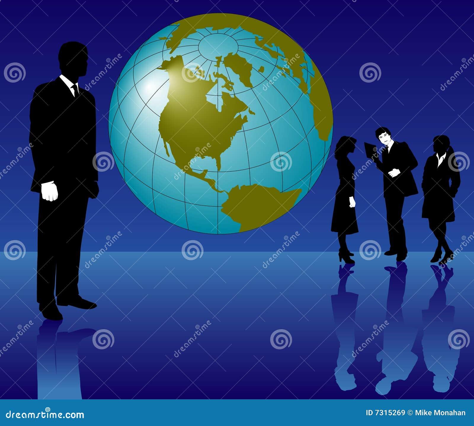 Gente di affari globale