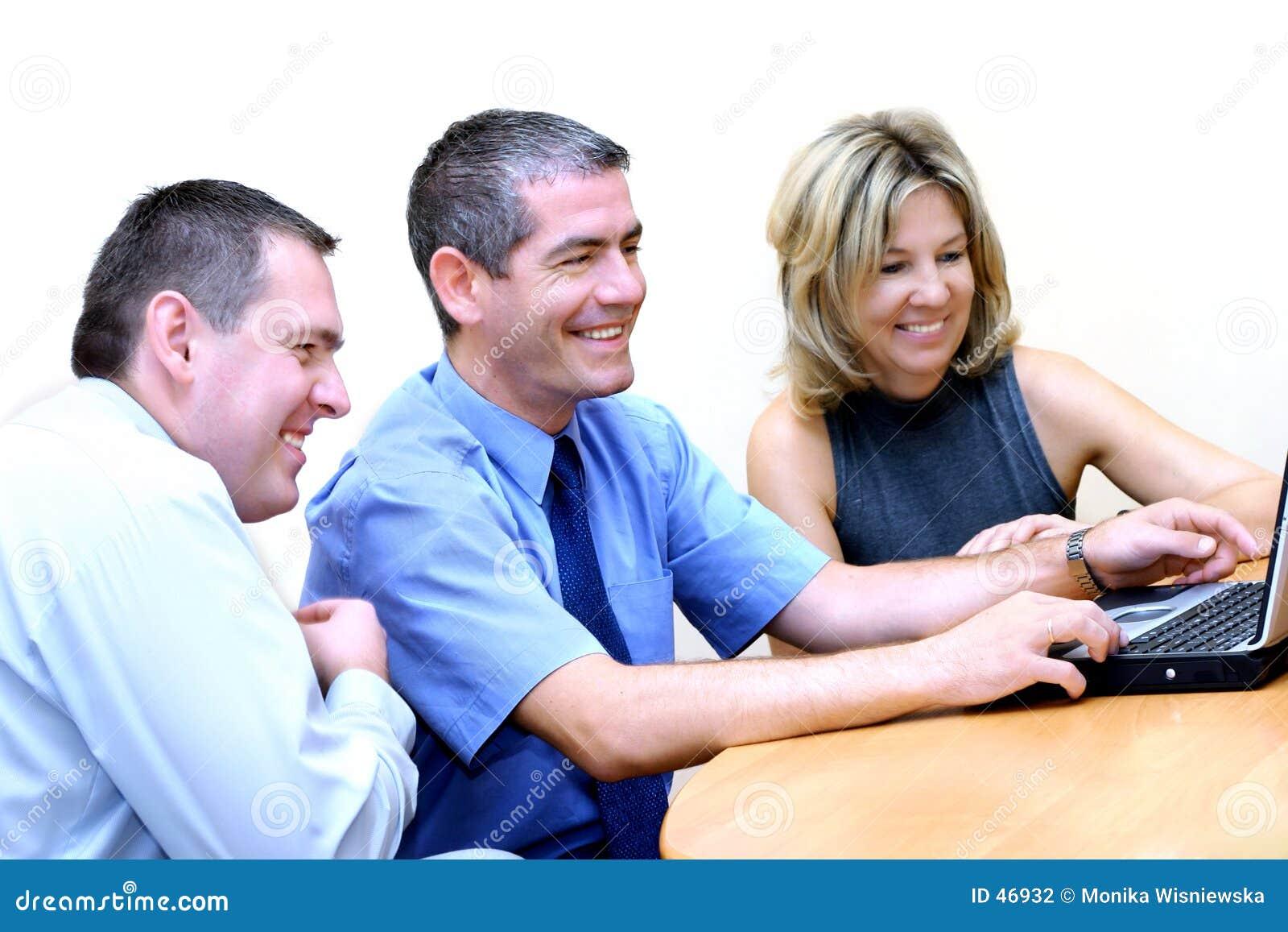 Gente di affari - passare in rassegna WWW 2