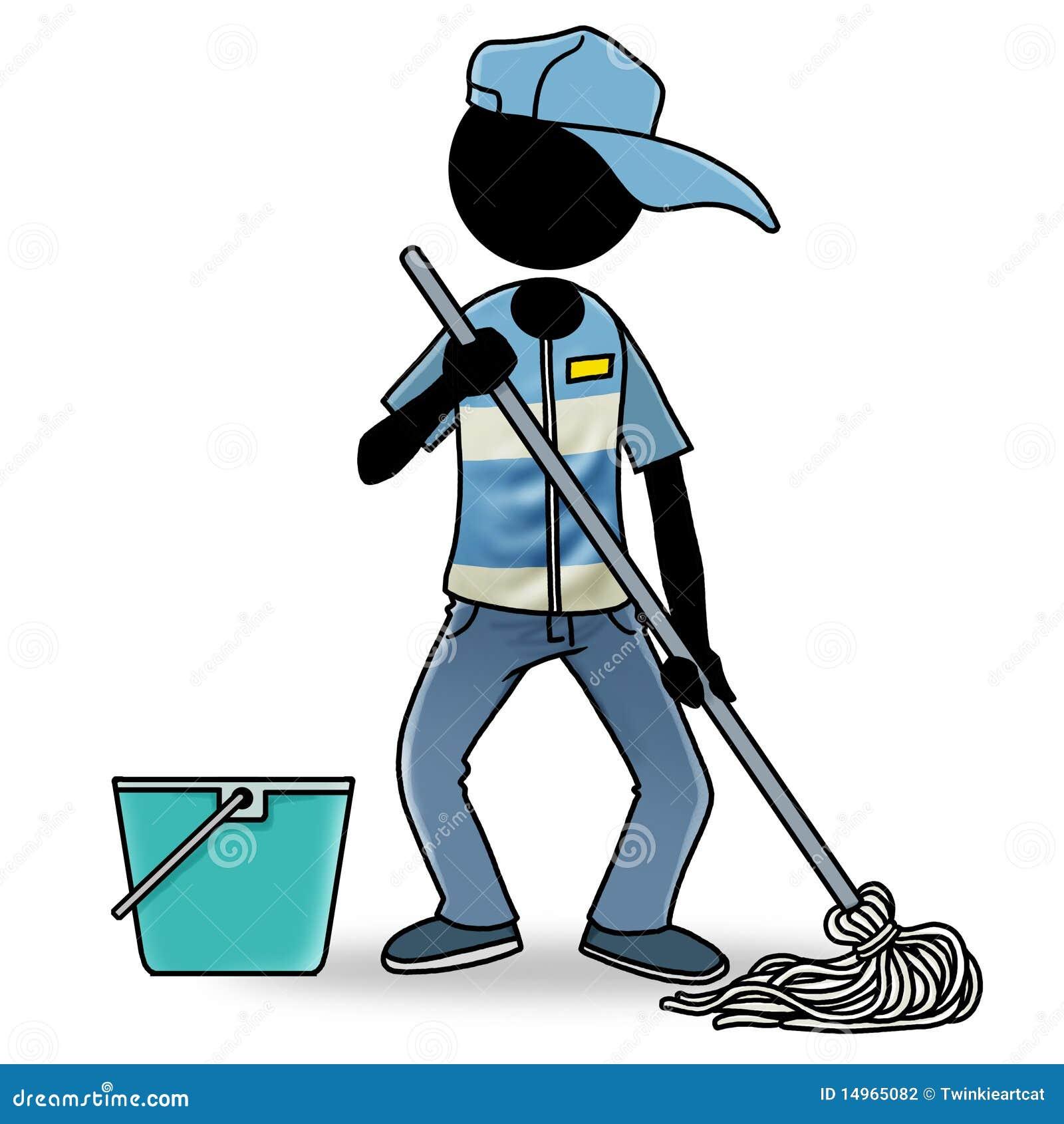 Gente en el icono del trabajo producto de limpieza de - Trabajo por horas de limpieza ...