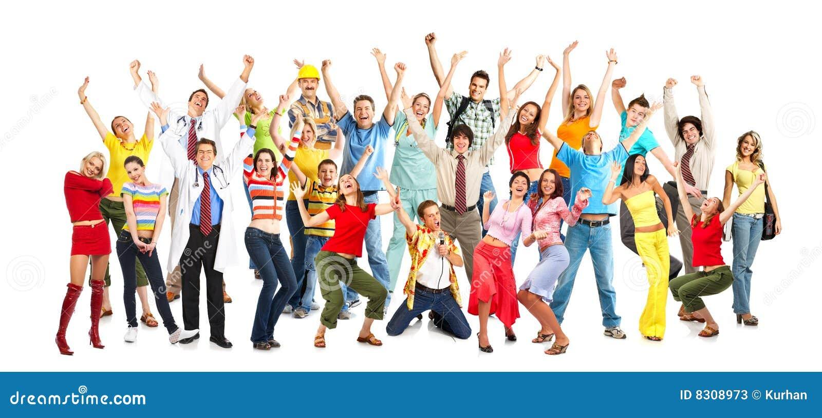 Gente feliz fotos de archivo imagen 8308973 - Imagenes de gente mala onda ...