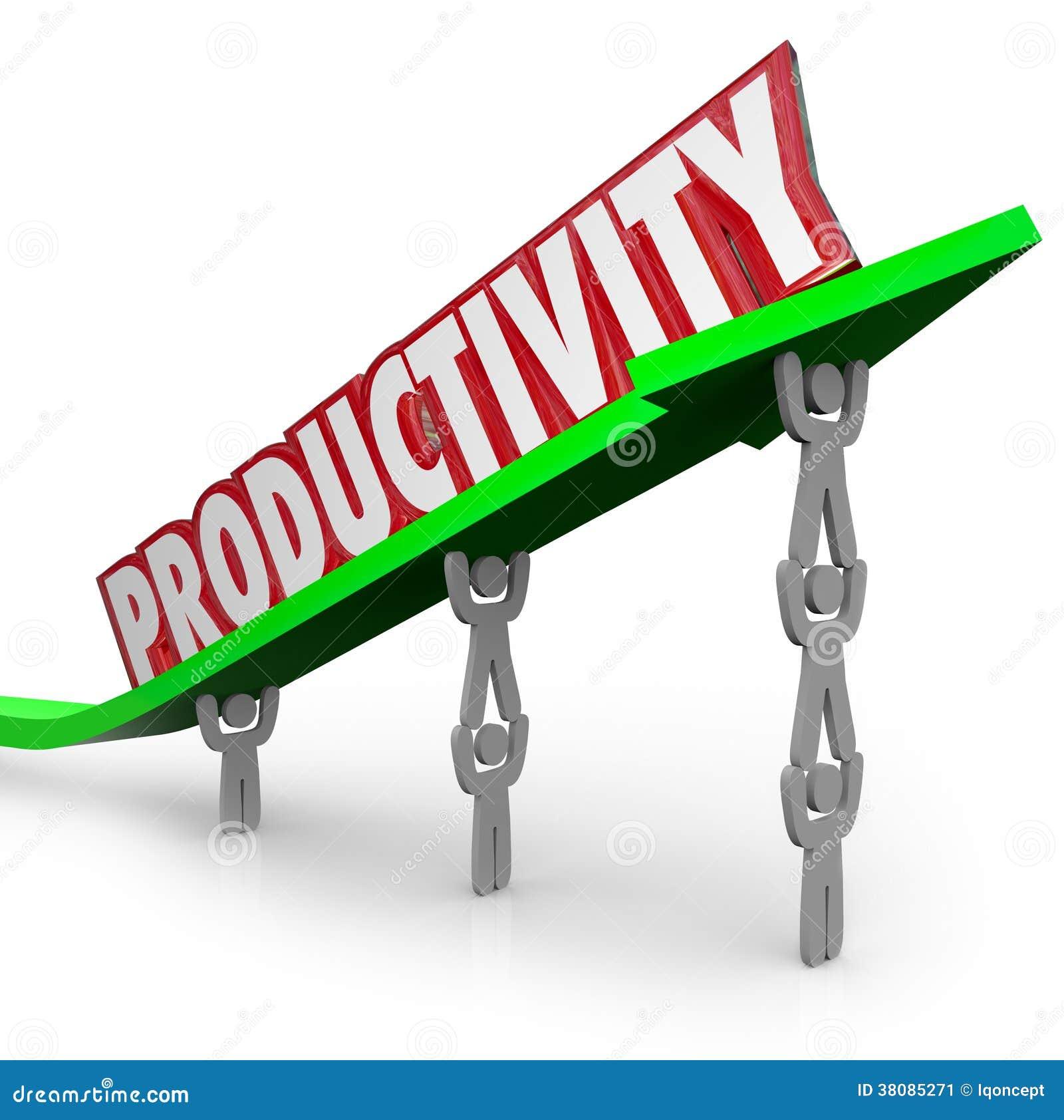 Gente productiva del trabajo en equipo eficiente de la productividad que trabaja Togeth