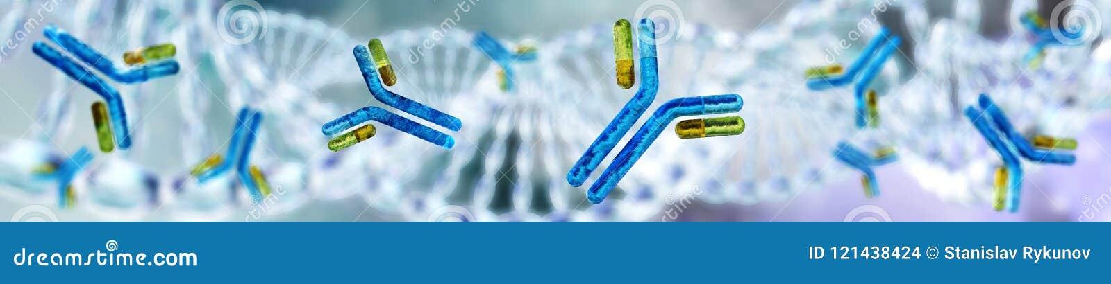 Gentechnikwissenschaftliches Konzept chromosom