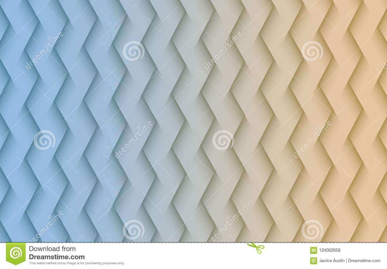 Gentle blue and sand white angled lines geometric abstract wallpaper background illustration