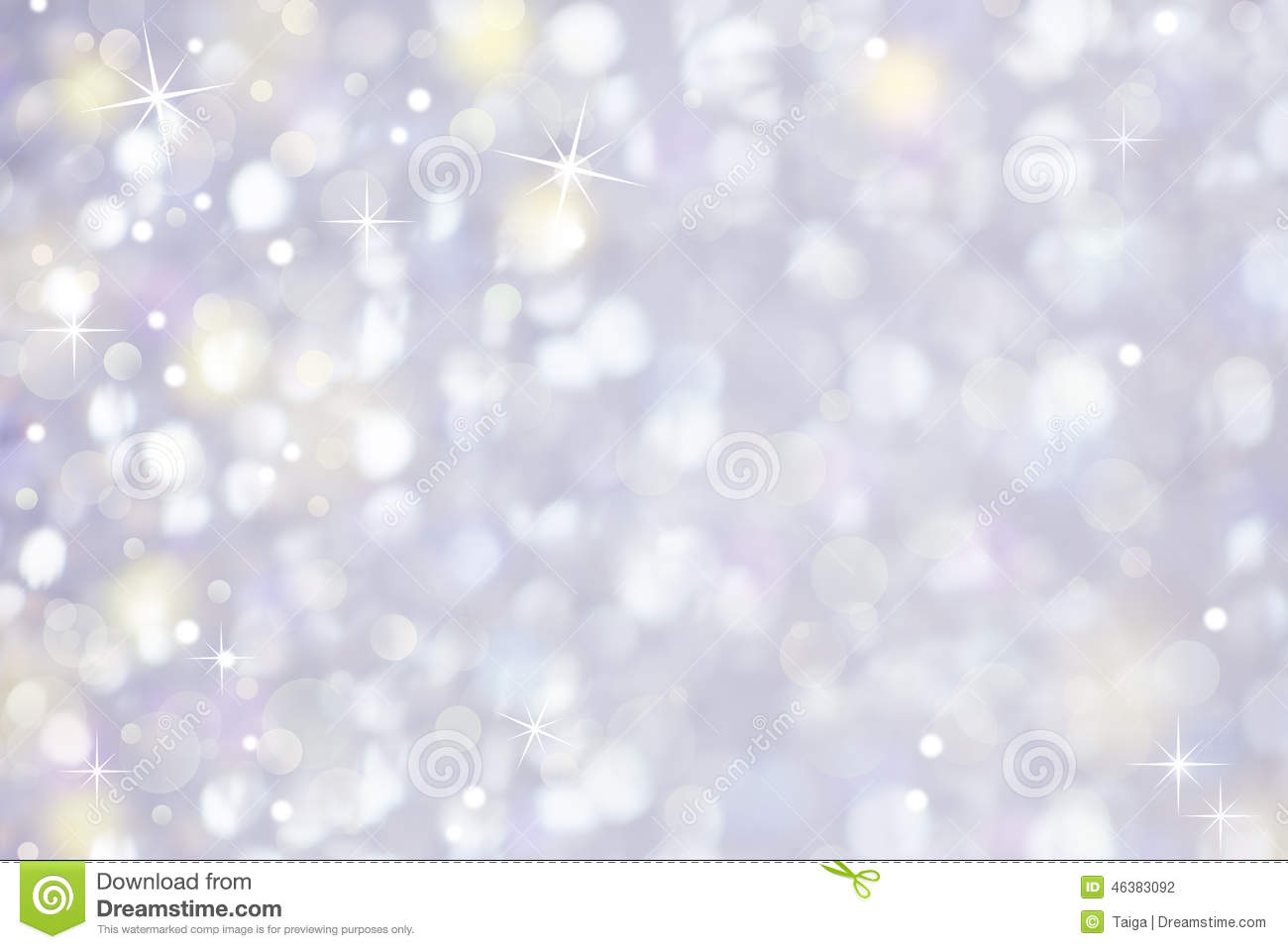 Gentle Glittering Light Abstract Background
