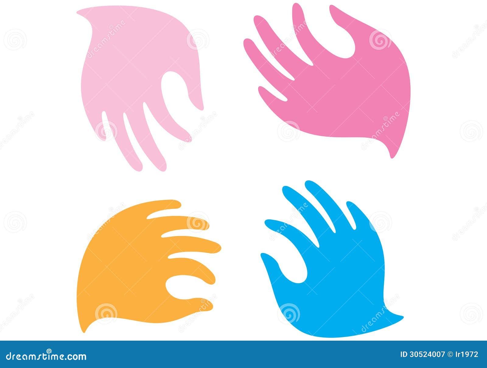gentle hands clipart - photo #25