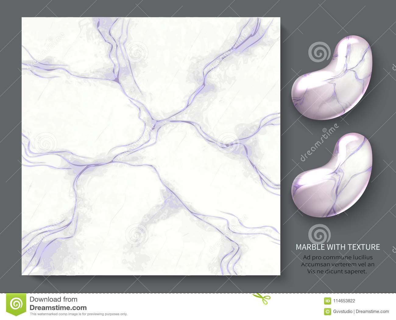Gently Purple Marble Pastel Tones Modern Design Template For Invitation Web Banner Card Pattern And Wallpaper Stock Vector Illustration Of Cover Backdrop 114653822
