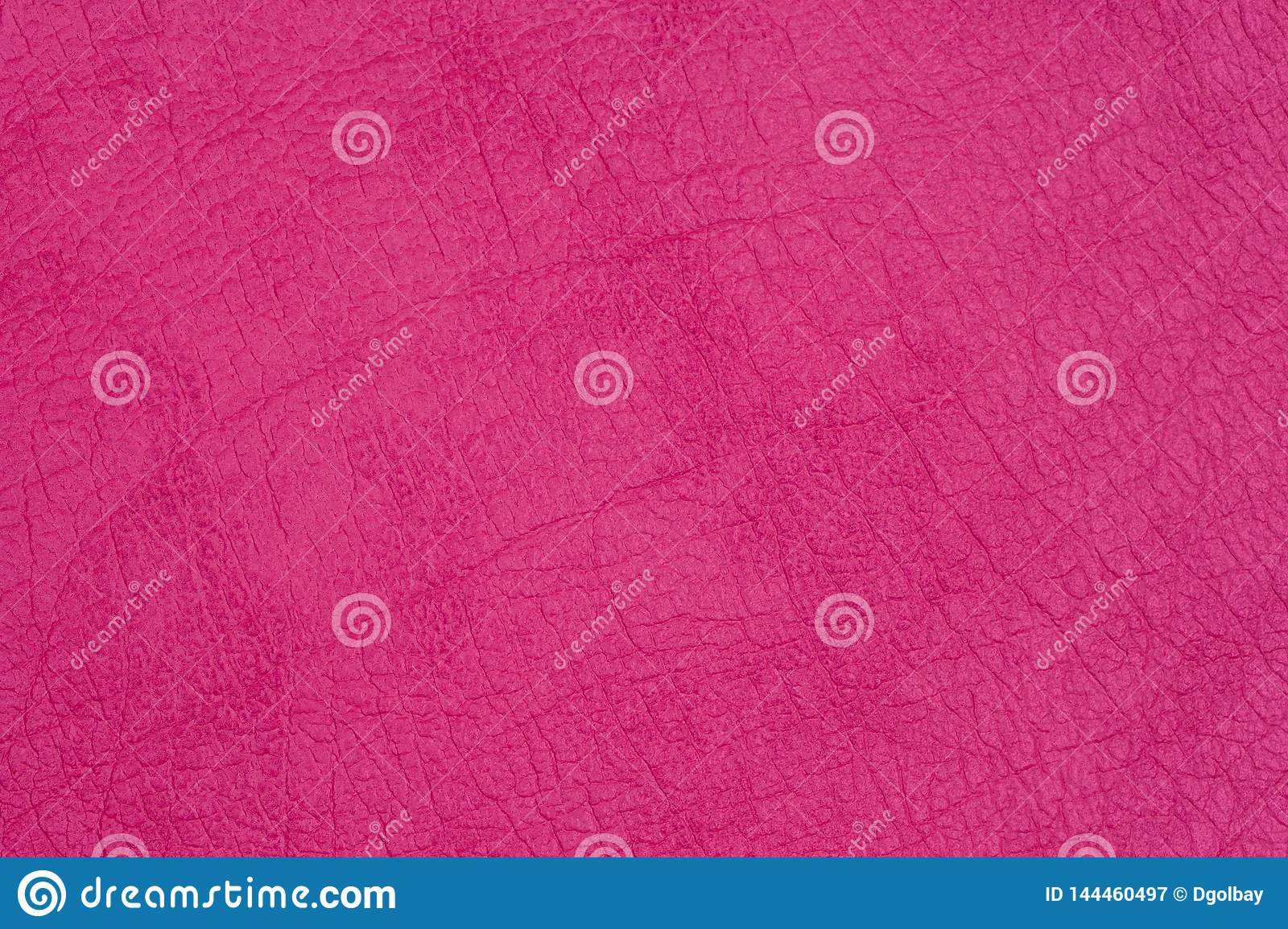 Genuine leather texture, bright pink