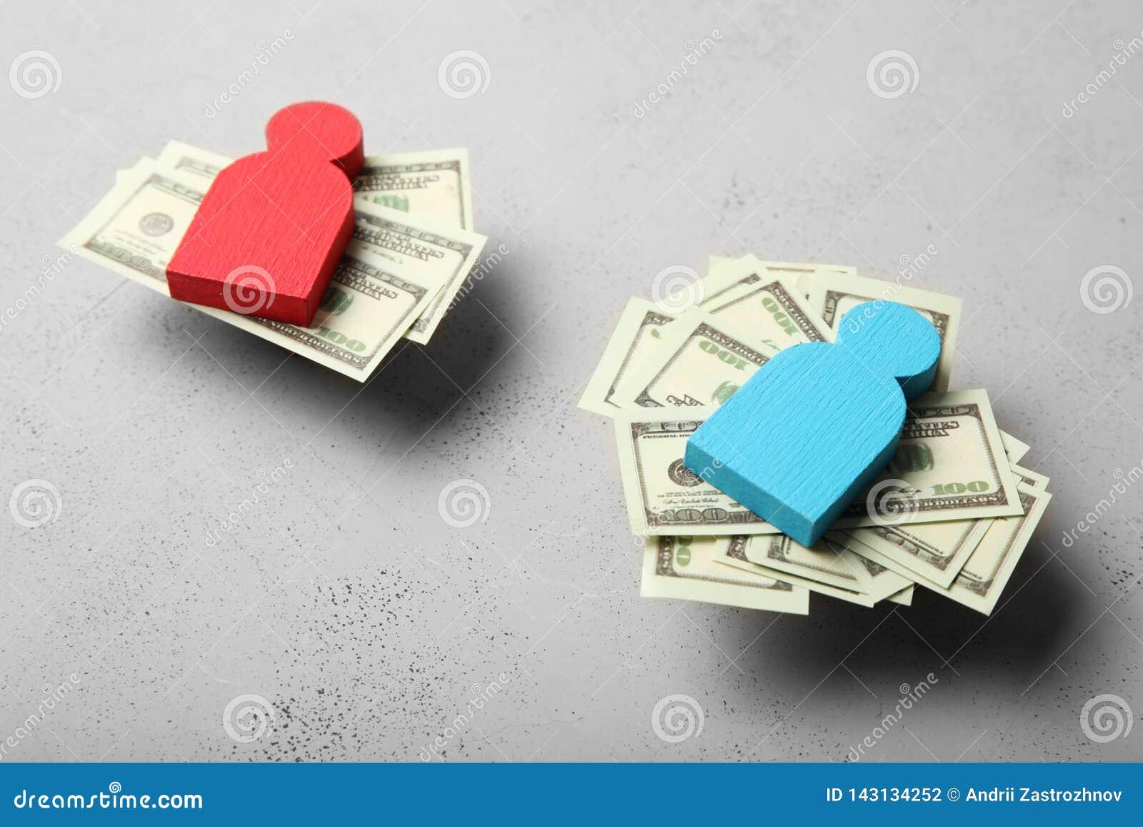 Genusojämlikhet i nivå av lönbegreppet