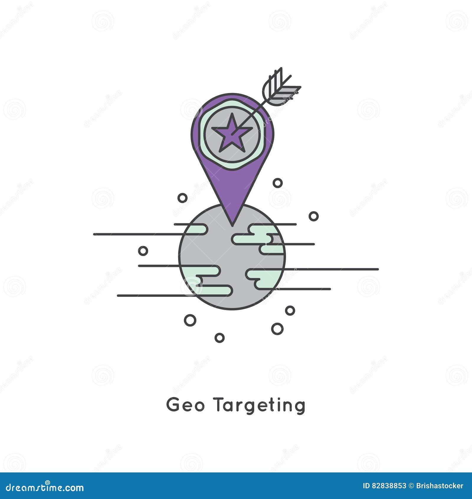 Geo celować, marketing i interneta marketing,