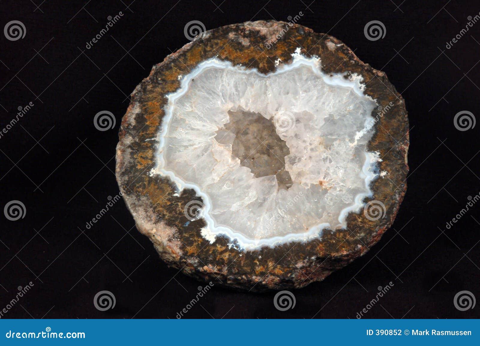 Geode χαλαζίας