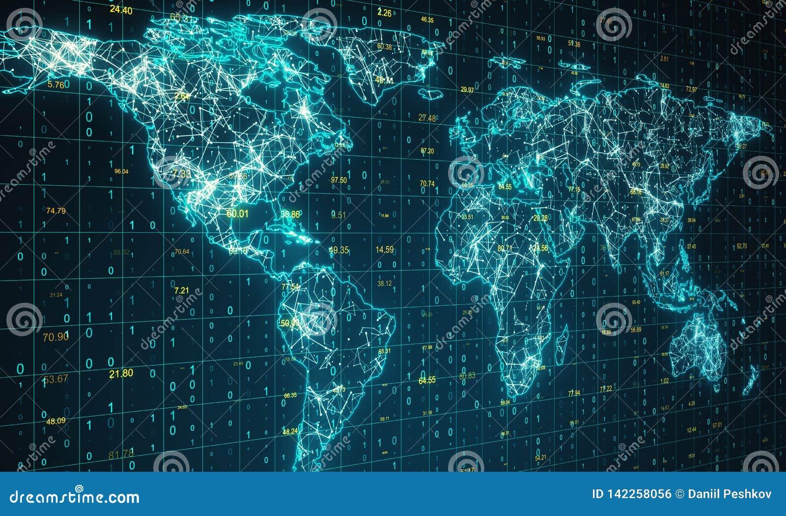 Geografi och kommunikationsbegrepp