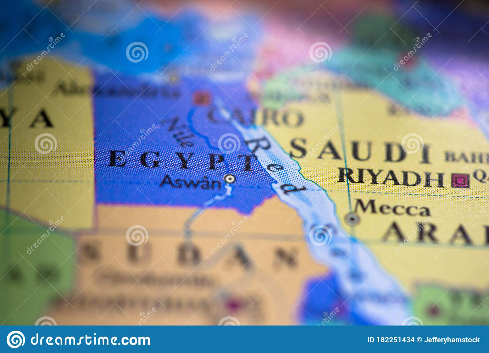 Picture of: Geographical Map Location Of Country Egypt In Africa Continent On Atlas Stock Photo Image Of Compass Deity 182251434
