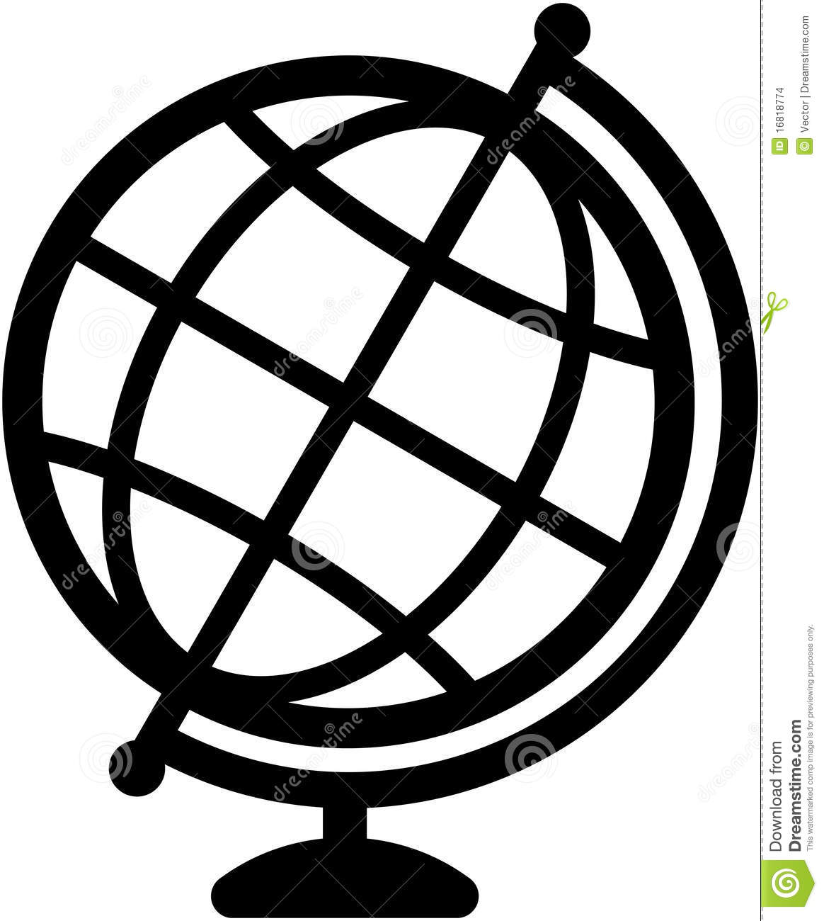 Line Drawing Geography : Geography earth globe icon illustration stock images