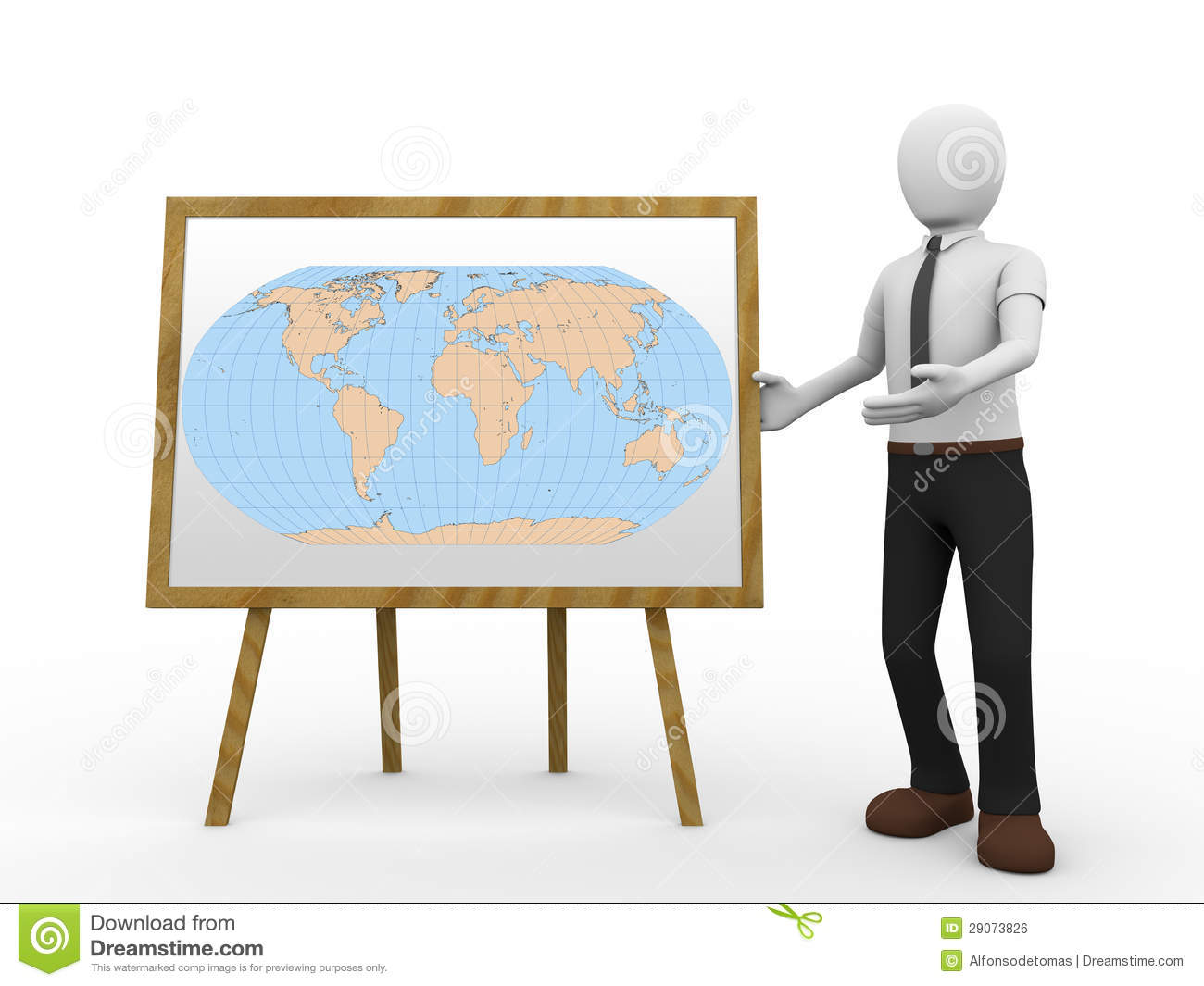 Geography Teacher Royalty Free Stock Image - Image: 29073826