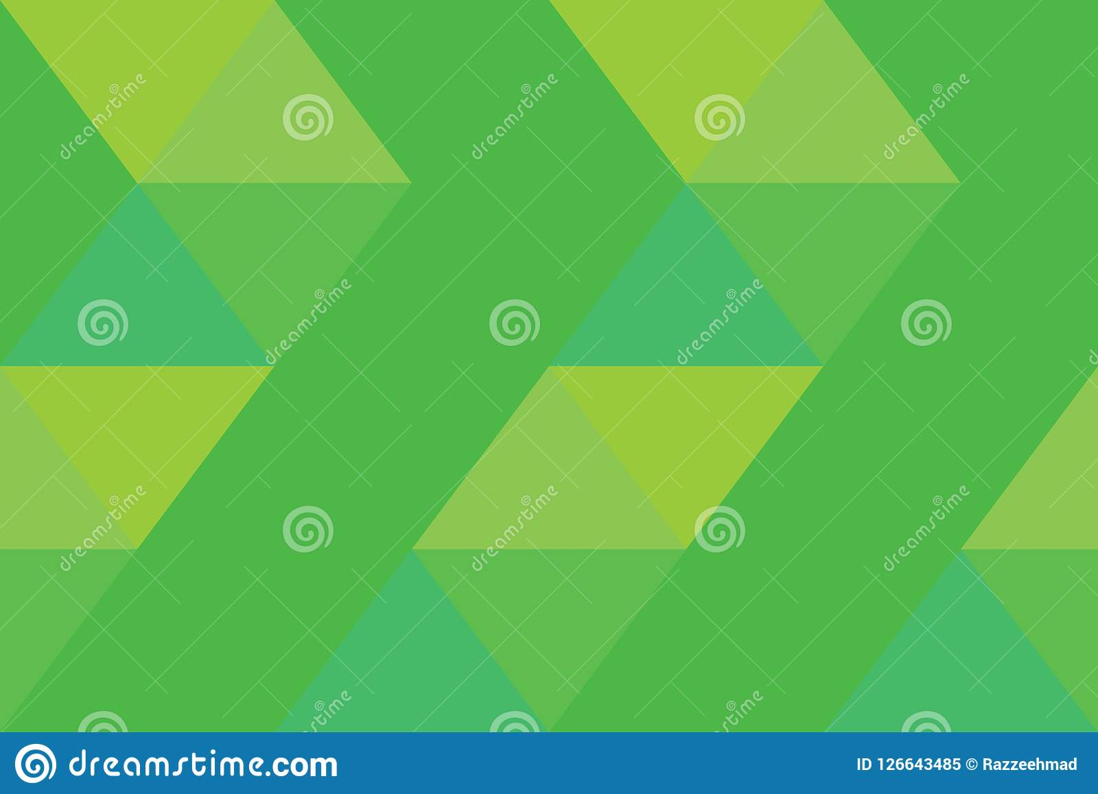 Geomatric style, Texture modern green gradation background banner triangle wallpaper.