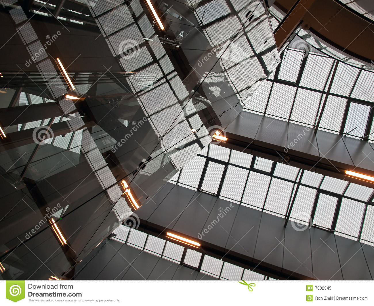 Geometric Abstract Architecture Royalty Free Stock Photo
