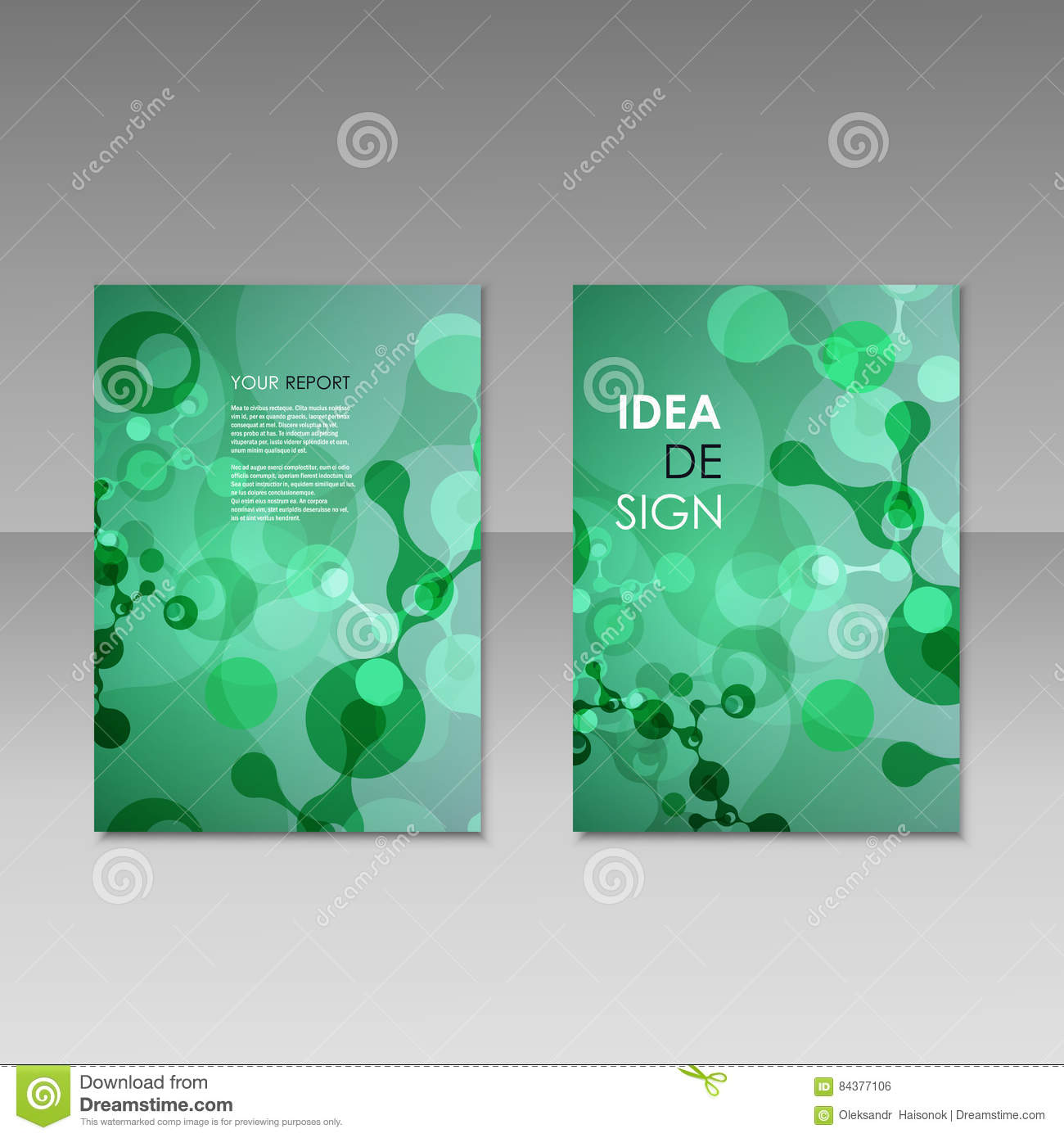 Colorful Modern Brochure Template Free Vector Business Brochure