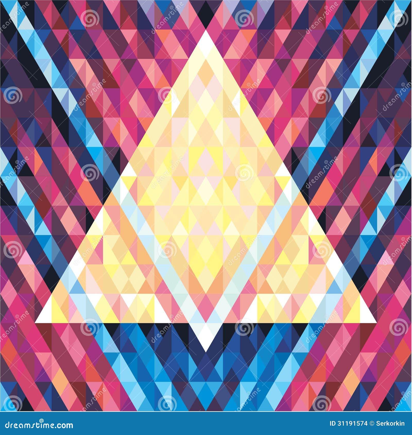 geometric background seamless vector pattern 02 stock