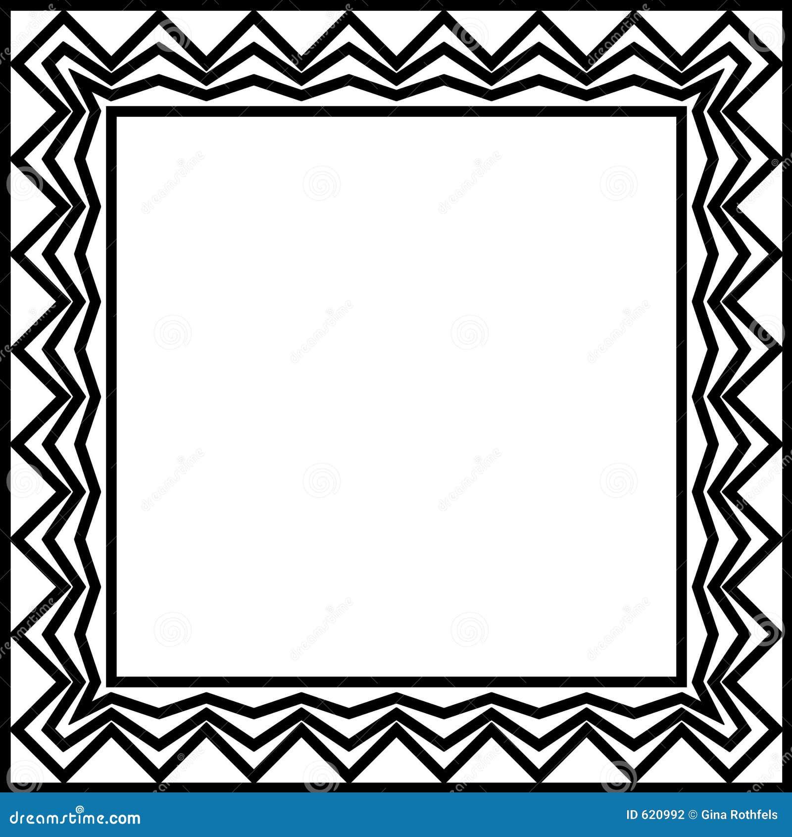 geometric border stock photography