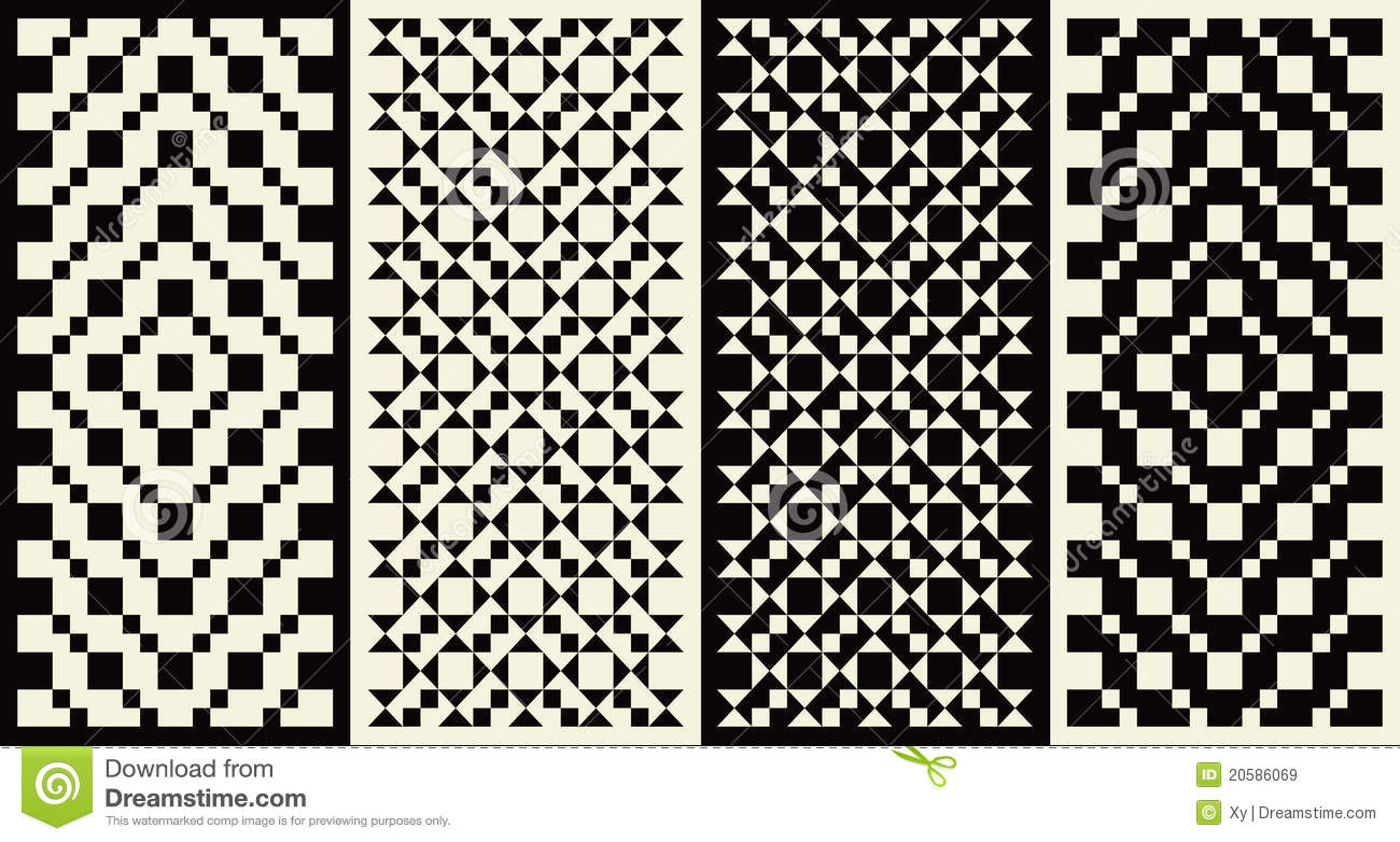 Geometric Designs Royalty Free Stock Images Image 20586069