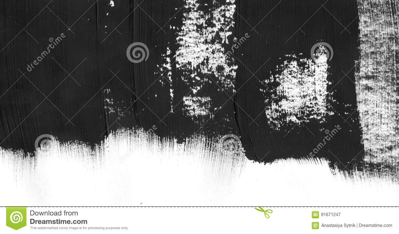Geometric graffiti abstract background. Wallpaper with oil watercolor effect. Black acrylic paint stroke texture on